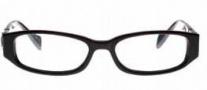 Ed Hardy EHO 728A Eyeglasses Eyeglasses - Black