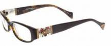 Ed Hardy EHO 728A Eyeglasses Eyeglasses - Tortoise