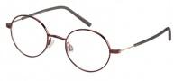 Modo 0123 Eyeglasses Eyeglasses - Dark Ruby
