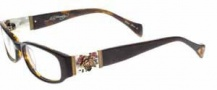 Ed Hardy EHO 728B Eyeglasses Eyeglasses - Tortoise