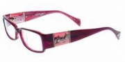 Ed Hardy EHO 729 Eyeglasses Eyeglasses - Comb Pink