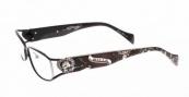 Ed Hardy EHO 730 Eyeglasses Eyeglasses - Black