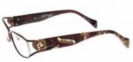 Ed Hardy EHO 730 Eyeglasses Eyeglasses - Matte Brown