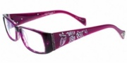 Ed Hardy EHO 731 Eyeglasses Eyeglasses - Violet Flash