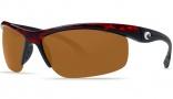 Costa Del Mar Skimmer Sunglasses Tortoise Frame  Sunglasses - Amber / 580P