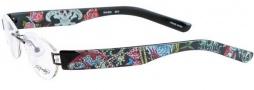 Ed Hardy EHL 805 Eyeglasses Eyeglasses - Black