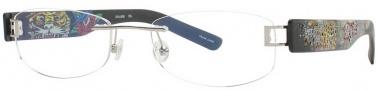 Ed Hardy Lites EHL 806 Eyeglasses Eyeglasses - Gun