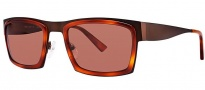 OGI Eyewear 8053 Sunglasses Sunglasses - 1372 Dark Brown / Blonde Tortoise