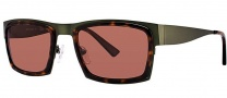 OGI Eyewear 8053 Sunglasses Sunglasses - 1374 Dark Olive / Dark Tortoise