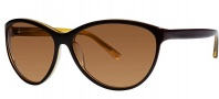 OGI Eyewear 8055 Sunglasses Sunglasses - 439 Brown / Yellow