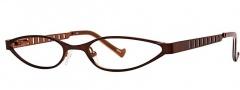 OGI Eyewear 2214 Eyeglasses Eyeglasses - 686 Brown Copper