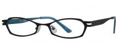 OGI Eyewear 2219 Eyeglasses Eyeglasses - 656 Black Teal