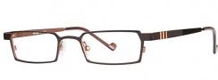 OGI Eyewear 2222 Eyeglasses Eyeglasses - 686 Brown / Copper