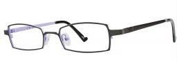 OGI Eyewear 2226 Eyeglasses Eyeglasses - 1186 Gunmetal / Lilac