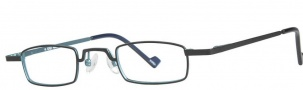 OGI Eyewear 2228 Eyeglasses Eyeglasses - 685 Black Teal