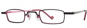 OGI Eyewear 2228 Eyeglasses Eyeglasses - 1071 Dark Gunmetal / Lilac