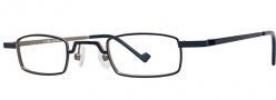 OGI Eyewear 2228 Eyeglasses Eyeglasses - 757 Navy Gunmetal
