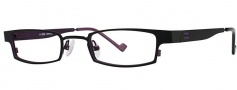 OGI Eyewear 2229 Eyeglasses Eyeglasses - 670 Black Purple