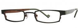 OGI Eyewear 2229 Eyeglasses Eyeglasses - 623 Dark Olive Coffee
