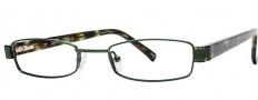 OGI Eyewear 2231 Eyeglasses Eyeglasses - 1237 Green / Green Chop