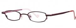 OGI Eyewear 2233 Eyeglasses  Eyeglasses - 1249 Burgundy / Pink