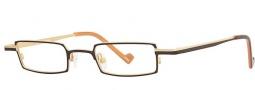 OGI Eyewear 2234 Eyeglasses Eyeglasses - 1253 Dark Brown / Light Bronze