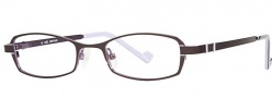 OGI Eyewear 2235 Eyeglasses Eyeglasses - 1248 Dark Brown / Lilac