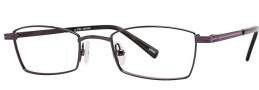 OGI Eyewear 2239 Eyeglasses Eyeglasses - 1299 Dark Gunmetal / Purple