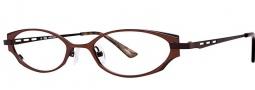 OGI Eyewear 2240 Eyeglasses Eyeglasses - 1399 Caramel / Chocolate
