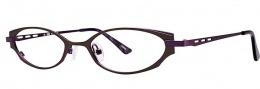 OGI Eyewear 2240 Eyeglasses Eyeglasses - 1400 Dark Olive / Eggplant
