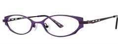 OGI Eyewear 2240 Eyeglasses Eyeglasses - 1398 Purple / Dark Gunmetal