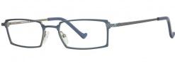 OGI Eyewear 3058 Eyeglasses Eyeglasses - 720 Dark Blue / Silver
