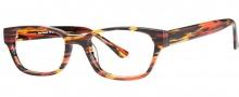 OGI Eyewear 3061 Eyeglasses  Eyeglasses - 388 Orange Camoflage
