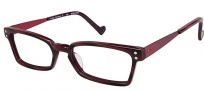 OGI Eyewear 3063 Eyeglasses Eyeglasses - 359 Red Cadet / Stripe Red