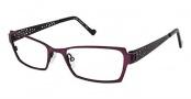 OGI Eyewear 3066 Eyeglasses Eyeglasses - 739 Berry / Black