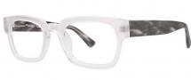 OGI Eyewear 3100 Eyeglasses Eyeglasses - 1329 Crystal / Gray Demi