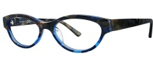 OGI Eyewear 3101 Eyeglasses Eyeglasses - 1279 Blue Marble Demi / Blue Marble