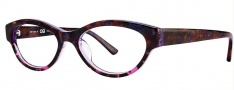OGI Eyewear 3101 Eyeglasses Eyeglasses - 1281 Purple Marble Demi / Purple Marble