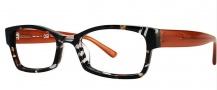 OGI Eyewear 3104 Eyeglasses Eyeglasses - 1377 Black Camouflage / Brown
