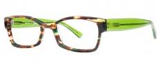 OGI Eyewear 3104 Eyeglasses Eyeglasses - 1378 Green Camouflage / Green