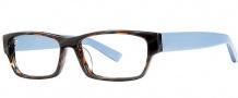 OGI Eyewear 3108 Eyeglasses Eyeglasses - 1408 Black / Gray Strato Blue