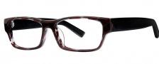 OGI Eyewear 3108 Eyeglasses Eyeglasses - 1420 Red Gray Black / Strato Black