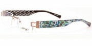 Ed Hardy Lites EHL 810 Eyeglasses Eyeglasses - Copper