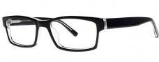 OGI Eyewear 3110 Eyeglasses Eyeglasses - 106 Black / Crystal