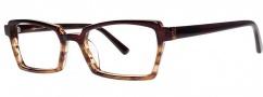 OGI Eyewear 3111 Eyeglasses Eyeglasses - 1447 Burgundy Demi