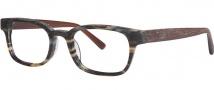 OGI Eyewear 3113 Eyeglasses Eyeglasses - 1450 Grey Tan Camouflage / Dark Tan