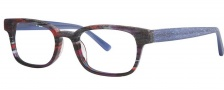 OGI Eyewear 3113 Eyeglasses Eyeglasses - 1449 Red Purple Camouflage / Blue