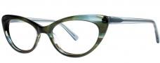 OGI Eyewear 3114 Eyeglasses  Eyeglasses - 1452 Aqua Streak / Aqua