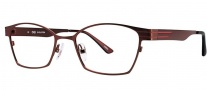 OGI Eyewear 3502 Eyeglasses Eyeglasses - 1249 Burgundy Copper / Burgundy