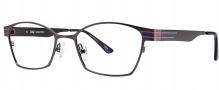 OGI Eyewear 3502 Eyeglasses Eyeglasses - 1299 Dark Gunmetal / Purple